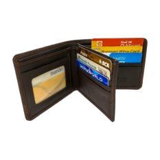 Dompet Kulit Asli Pria Original 3D Coklat Mens Wallet Handmade Leather Gio Ddm 002 Dexmara Style Diskon 50