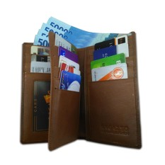 Harga Dompet Kulit Asli Pria Ragazzo Original Coklat Travel Wallet Mens Original