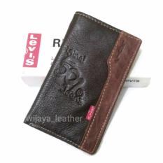 Dompet kulit pria model tanggung ( 3/4 ) Asli Kulit