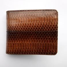 Jual Dompet Kulit Ular Asli Model Bifold Elegan Hand Made Original