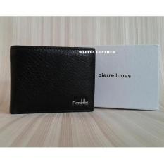 Dompet Mini Ukuran Tinggi 8 5 X Panjang 11Cm Pierre Lousse Hitam Wijaya Leather Terbaru