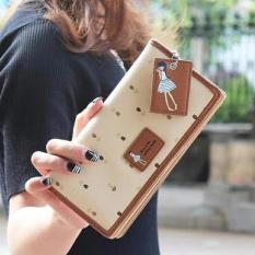 Spesifikasi Dompet Panjang Jimshoney Dolly Wallet Cream Murah