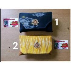 Dompet Pinggang Kombinasi Kain Endek asli Bali