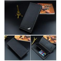 Dompet Pria Men Import Impor Long Wallet Zipper Credit Cards Holder