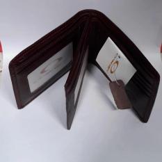 Harga Dompet Tempat Uang Kulit Asli 3 Dimensi Merk Okley Model Samping Paling Murah