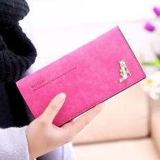 Dompet Wanita Branded Import Red Botusi Wallet Japan Style Long .
