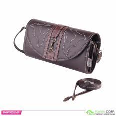 Obral Dompet Wanita Clutch Bag Sal 604 Brown Murah
