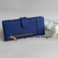 Dompet Wanita Model Lipat CRL 01A - Biru Tua