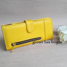 Harga Dompet Wanita Model Lipat Crl 01A Kuning Paling Murah