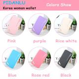 Dompet Wanita Pidanlu Heels Clutch Korea Style Clutches Wallet High Heel Hitam Pink Pink Tua Ungu Biru Putih Asli