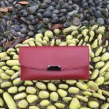 Penawaran Istimewa Dompet Wanita Wallet Best Quality Import Logo Datar Merah Terbaru