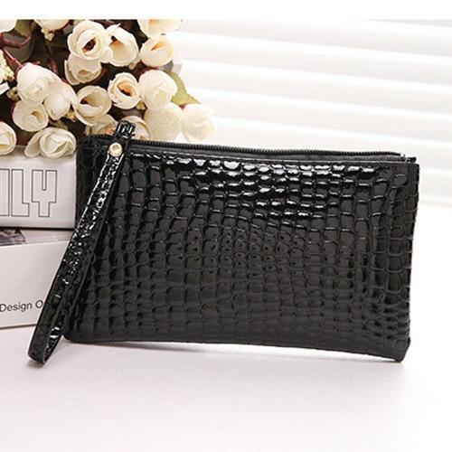 Cocok untuk pesta dan berpergian Dompet WL14 wanita cewek fashion import impor kulit sintetis PU leather Coin Key Purse Wallet Pouch