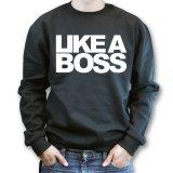 Jual Don Dona Sweater Like A Boss Black Dki Jakarta Murah