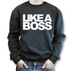 Review Pada Don Dona Sweater Like A Boss Black