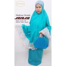 Beli D One Shop Mukena Renda Azizah Katun Silk Super Jumbo Free Tas Cantik Nyicil