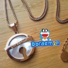 Doraemon Bell Necklace Kalung Lonceng Doraemon Lapis Platina 18K - Vlyx8z