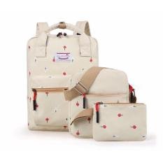 DoubleC fashion Backpack 3in1 Natasha Cream