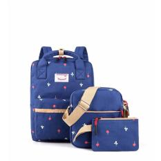 DoubleC fashion Backpack 3in1 Natasha Navy