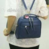 Doublec Fashion Bags Aurora Navy Doublec Fashion Diskon 40