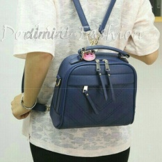 Jual Doublec Fashion Bags Aurora Navy Branded Murah