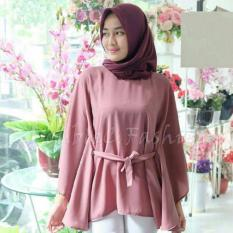 Jual Doublec Fashion Blouse Naila Dusty Branded Original