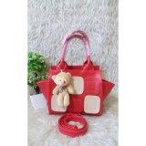 Harga Doublec Fashion Caren Bag Red Merk Doublec Fashion