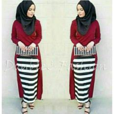 DoubleC Fashion Pro Mariam 3in1 Maroon