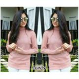 Spesifikasi Doublec Fashion Sweater Roundhand Turtle Dusty Terbaru