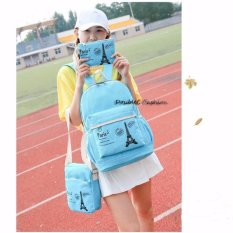 Review Doublec Fashion Tas Backpack 3In1 Paris Tosca Dki Jakarta
