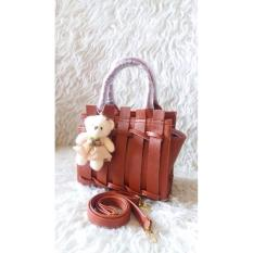 Review Tentang Doublec Fashion Tas Beauty Brown Brown
