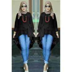 Cuci Gudang Doublec Fashion Tunik Shila Black