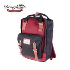 harga tas sekolah. Source · Donut Macaroon Unisex Waterproof Nylon Backpack (Hitam X Wine