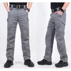 DOZN Celana Panjang Cargo Blackhawk Tactical outdoor - Grey Abu