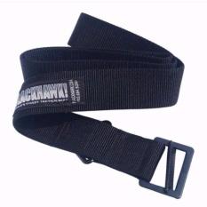 DOZN Ikat Pinggang Belt Blackhawk Black - Hitam - Kepala Sabuk Besi