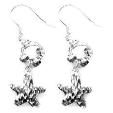 DPARIS - Anting Lapis Gantung Starfish Silver