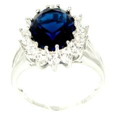 Beli Dparis Cincin Lapis Blue Sapphire