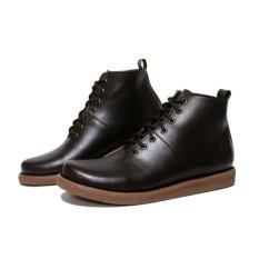 Harga Sepatu Brodo Boots Pria Terlaris Dr Becco Mercury Coklat Dan Spesifikasinya