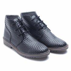 Jual Dr Kevin Men Casual Boots 1044 Black Satu Set