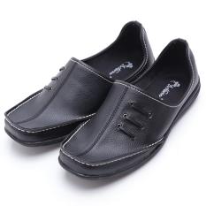 Harga Dr Kevin Sepatu Casual Pria 13184 Hitam Slip On Pria Nyaman Dipakai Terbaik