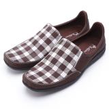 Jual Dr Kevin Sepatu Casual Pria 13210 Coklat Disain Elegan Nyaman Dipakai Jawa Barat Murah