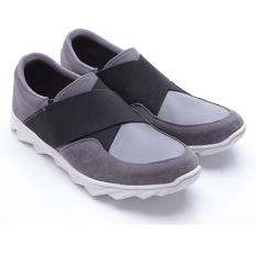 Top 10 Dr Kevin Sepatu Pria 13244 Abu Hitam Sepatu Casual Pria Online