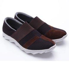 Spek Dr Kevin Sepatu Pria 13245 Hitam Coklat Sepatu Casual Pria Dr Kevin