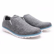 Katalog Dr Kevin Men Casual Shoes 13305 Grey Terbaru
