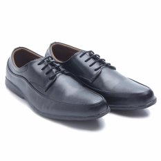 Harga Dr Kevin Men Dress Bussiness Formal Shoes 13300 Black Fullset Murah