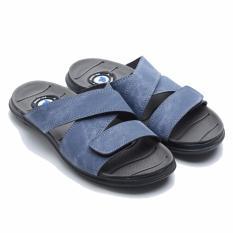 Beli Dr Kevin Men Sandals 17200 Blue Nyicil
