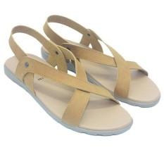 Dr Kevin Sandal Sendal Wanita 26130 Tan - Sendal Casual Wanita - Sandal Slop Bertali Wanita - Nyaman dipakai