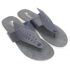 Dr Kevin Sandal Sendal Wanita Santai Flat 57021 Biru Jenis Sandal Jepit Wanita Desain Simpel Elegan Jawa Barat