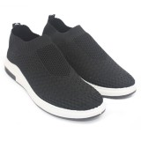 Harga Dr Kevin Sepatu Casual Pria 13320 Hitam Outdoor Men Fashion Sneakers Nyaman Dipakai