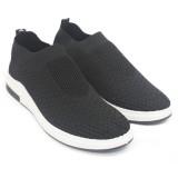 Promo Toko Dr Kevin Sepatu Casual Pria 13320 Hitam Outdoor Men Fashion Sneakers Nyaman Dipakai