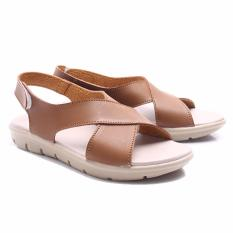 Beli Dr Kevin Shoes Women Sandals 26118 Brown Murah Di Jawa Barat